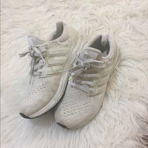 White Adidas Ultraboost